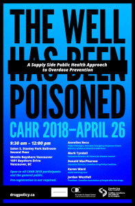 Poster for CAHR Event 2018