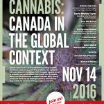 Poster of Cannabis and Canada Event