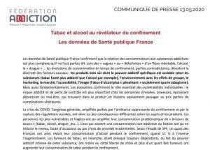 Tabac et alcool au révélateur du confinement Les données de Santé publique France
