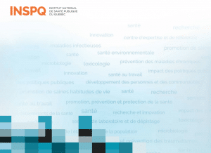 INSPQ Report