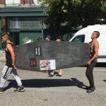 VANDU Memorial March; Vancouver; Aug. 15, 2020