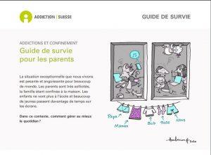 Addictions et confinement - Guide de survie pour les parents